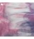 VERRE VITRAIL ROSE GRIS ET BLANC OPALESCENT - 3304-00