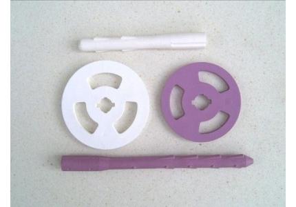Ancrage matériaux fibreux
