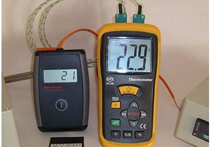 Indicateur de température